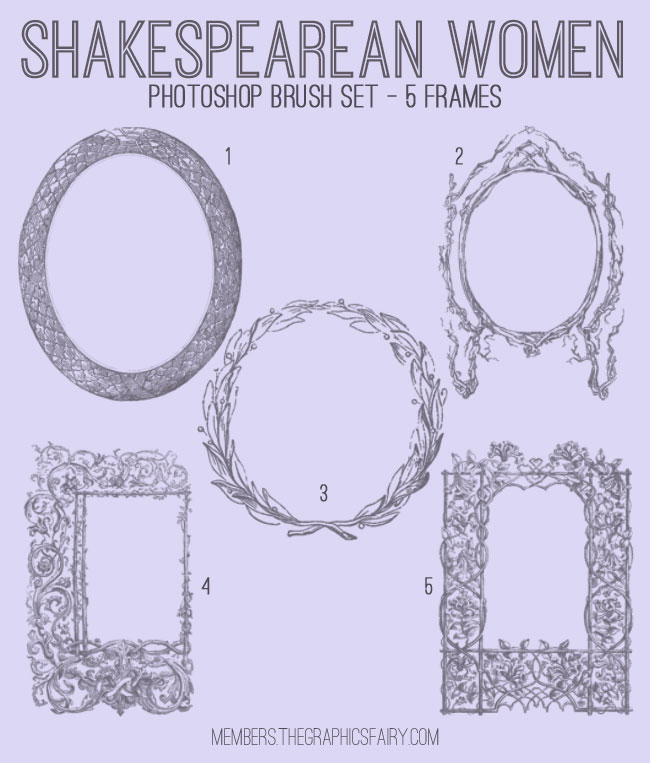 shakespearean_frames_graphicsfairy