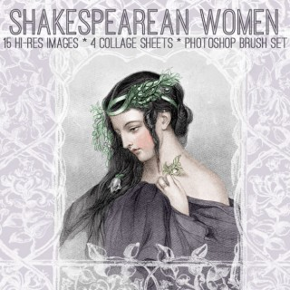 Stunning Shakespearean Beauties Kit! Graphics Fairy Premium