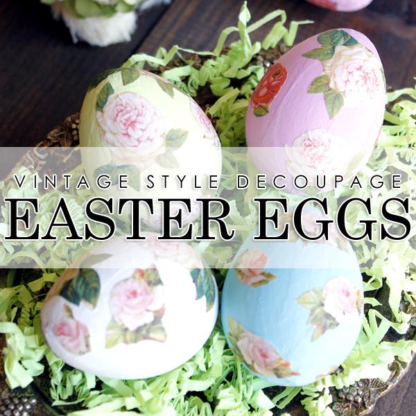 01 - Decoupaged Eggs
