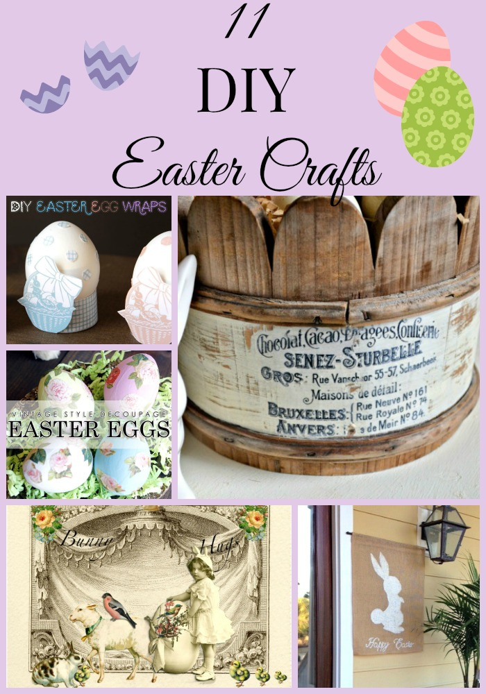 11 Diy Easter Crafts The Graphics Fairy