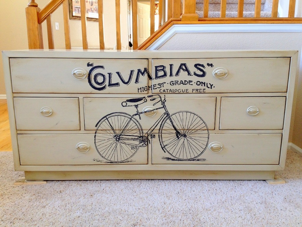 11 - Faithful Refinish - Refinished Vintage Bicycle Dresser