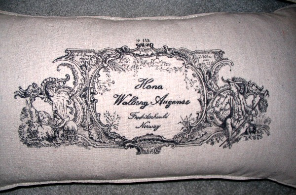 14 - Gustav and Gayle - DIY Great-Grandmother Pillows