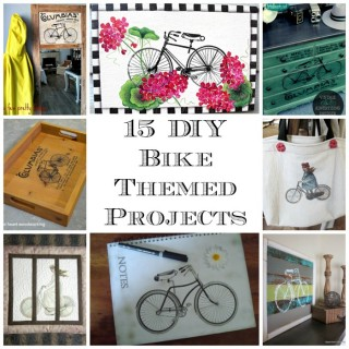 15 DIY Bicycle Themed Projects!