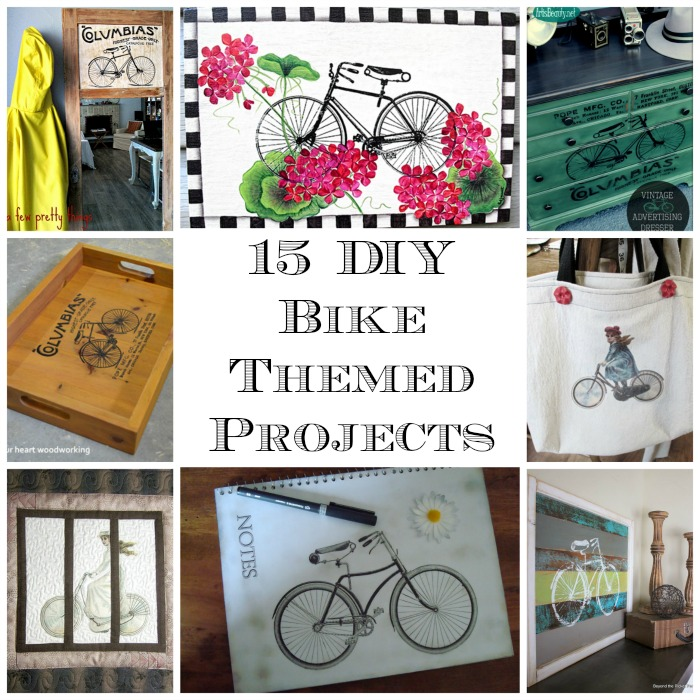 15 DIY Bike Themed Projects