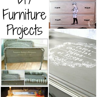 7 Painted Gray Furniture DIY Projects