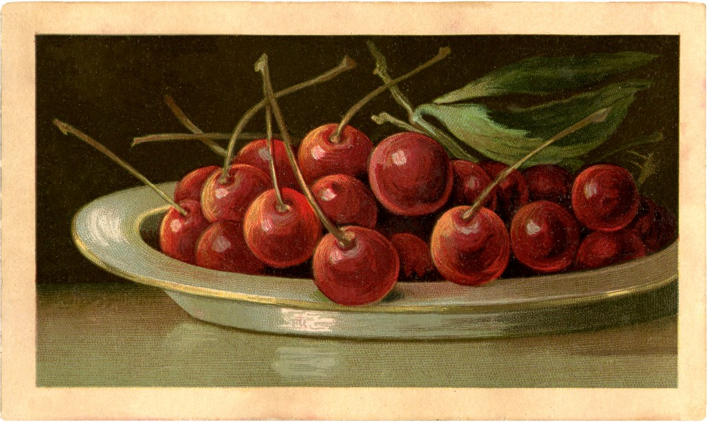 Bowl Full of Cherries Image