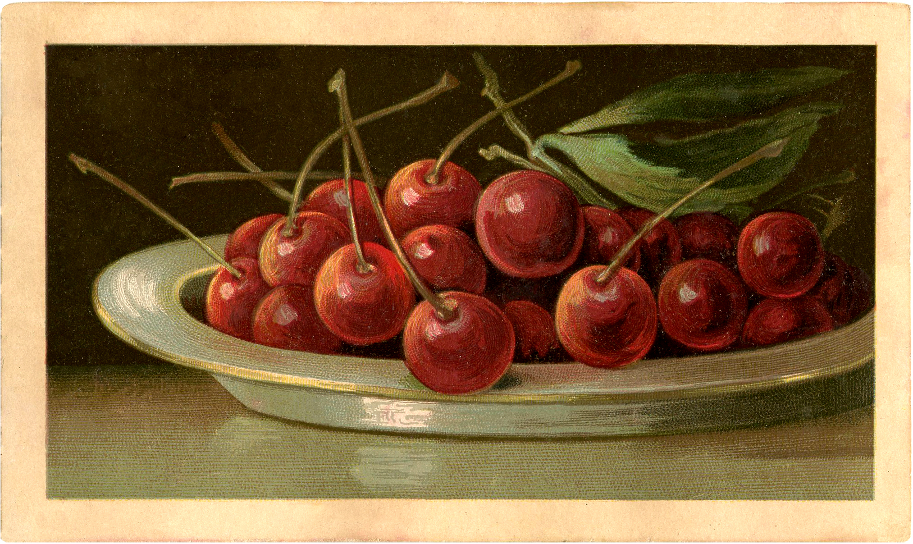 Bowl Full Of Cherries Image Beautiful The Graphics Fairy