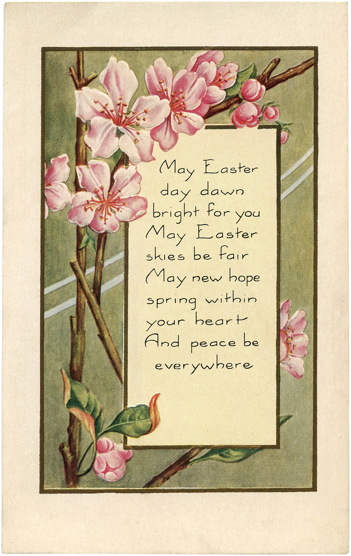 Pretty Easter Blossoms Image The Graphics Fairy