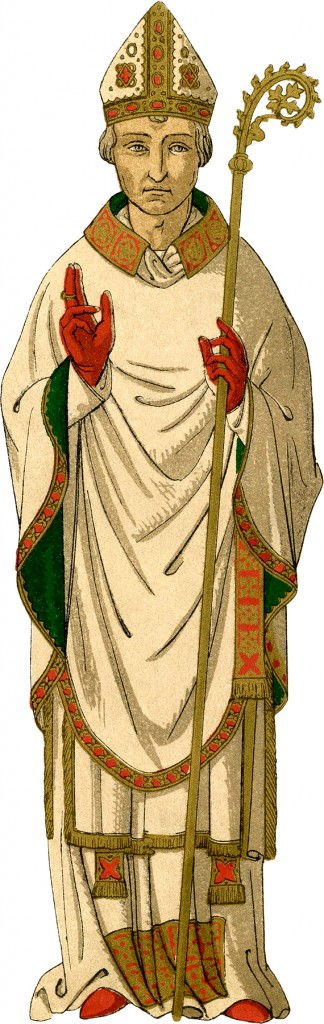 English Bishop Costume Image