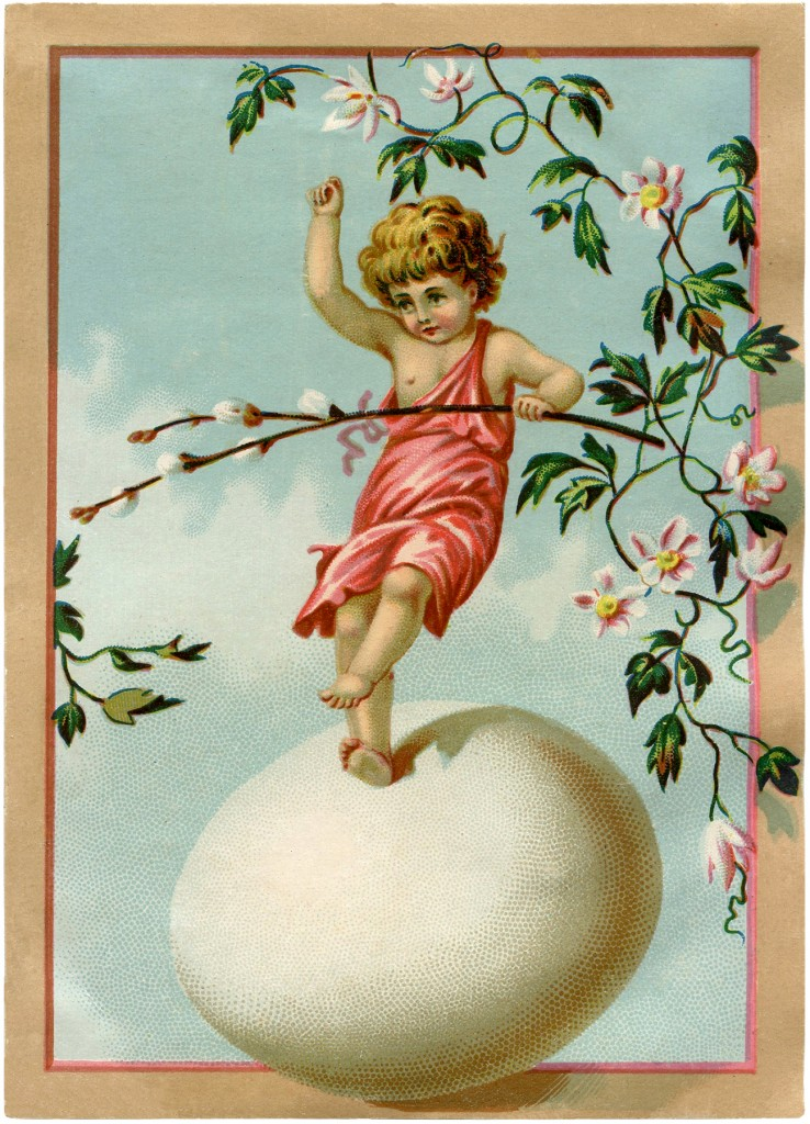 Fairy Dancing On Egg Image
