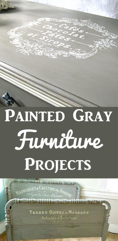 Painted Gray Furniture Projects
