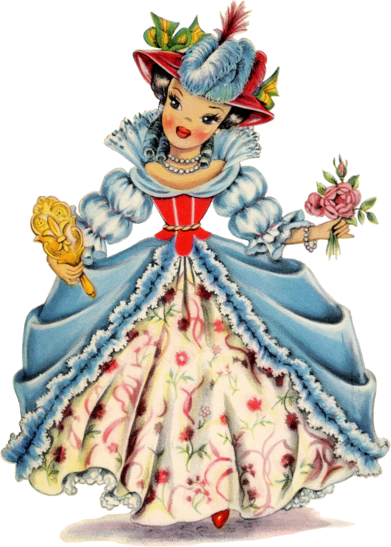 19 Retro Dolls of the World! - The Graphics Fairy