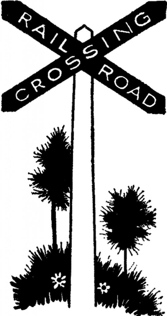 Vintage Railroad Sign Image