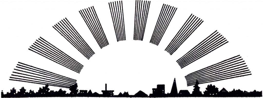 Vintage Sunrise Image