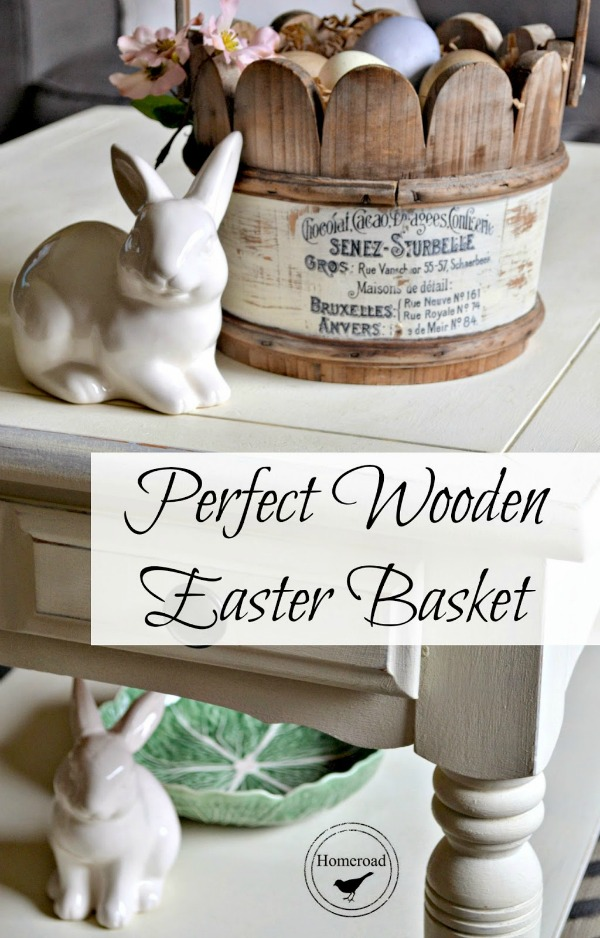 Diy Wooden Easter Basket Reader Feature The Graphics Fairy