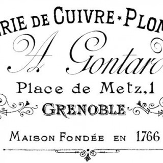 French Typography Transfer