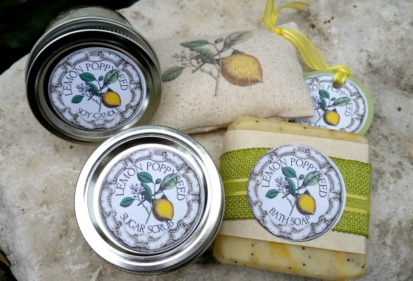 06 - Pillars of Silver - Handmade Lemon Bath Sets