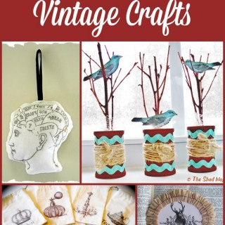 15 Gorgeous Vintage Crafts