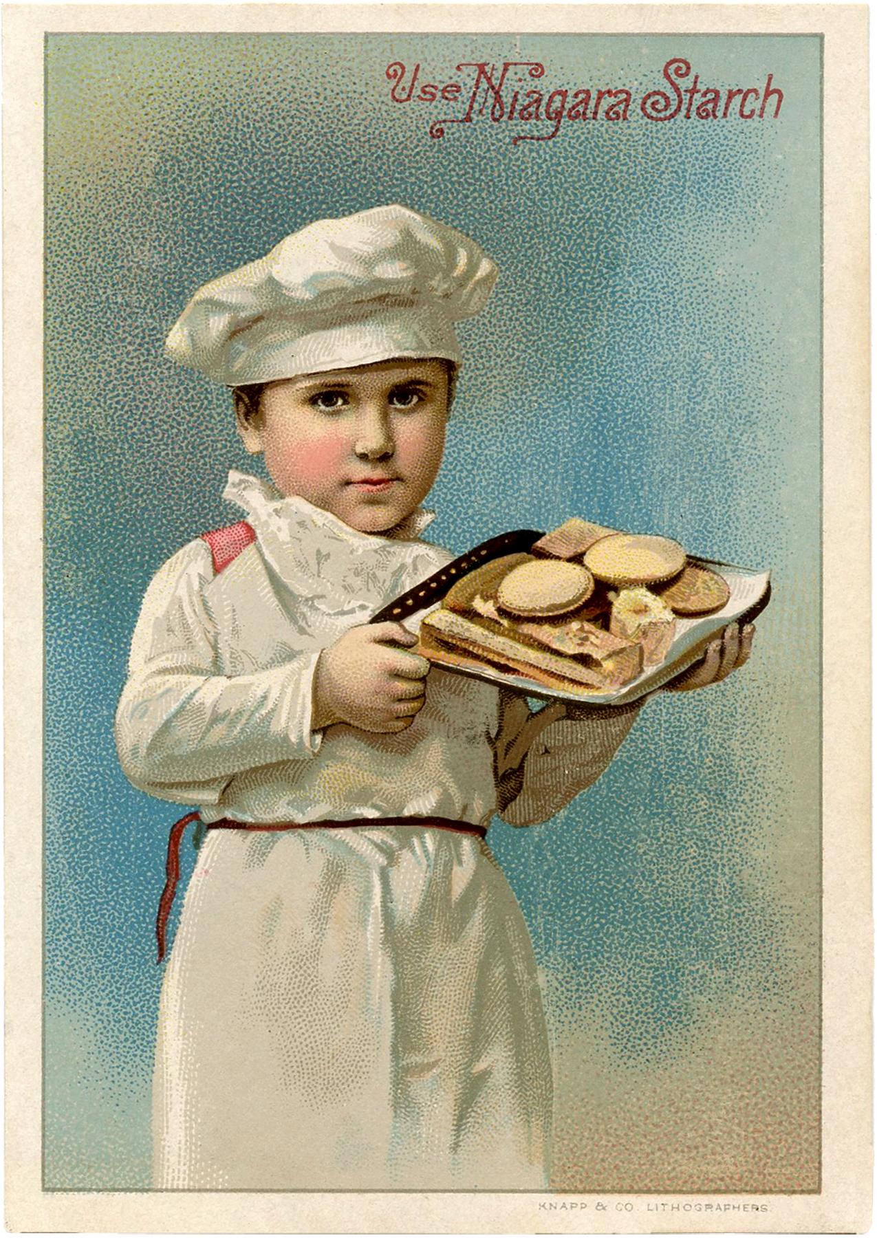 vintage food postcards