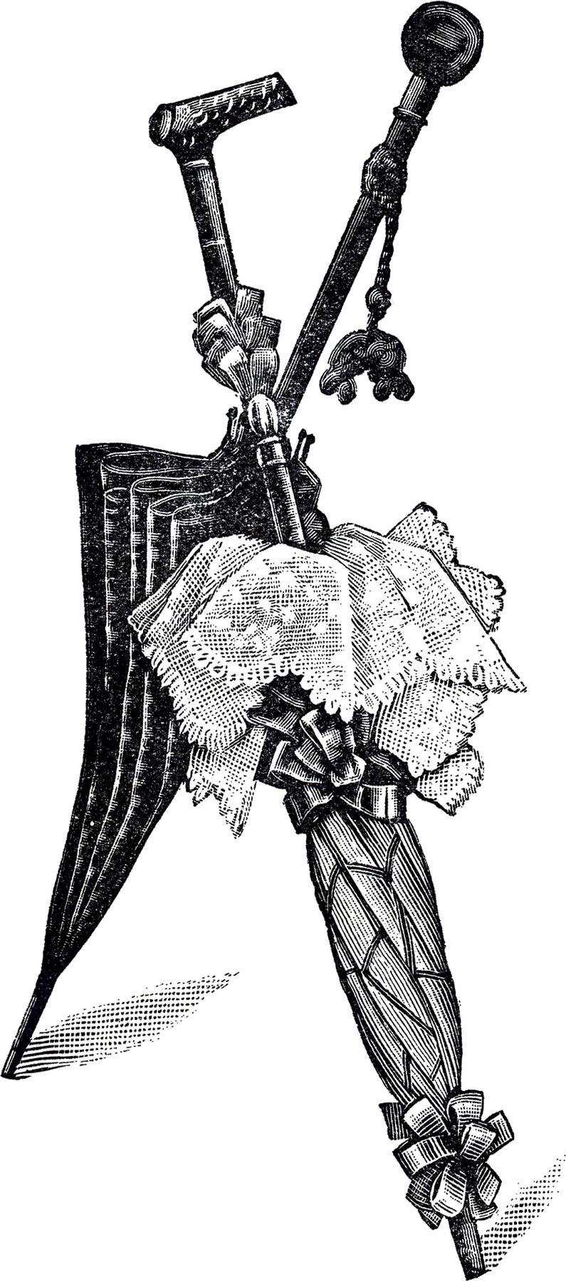 The Graphics Fairy: Free Vintage Umbrellas Clip Art!
