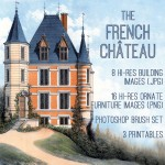 French_chateau_graphicsfairy