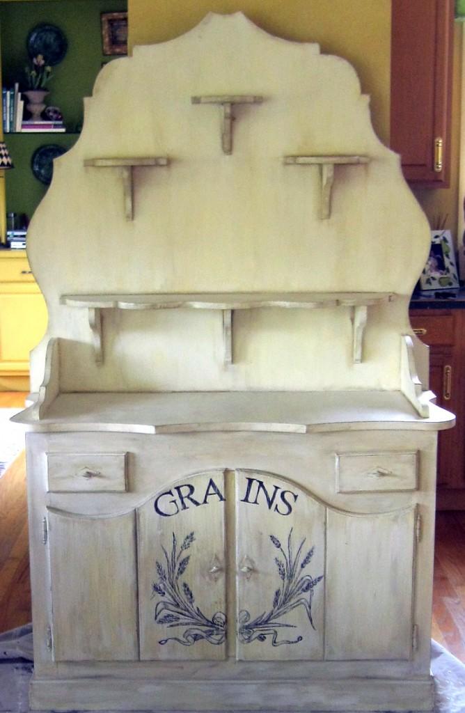 Katie's Corner - Grain Cabinet