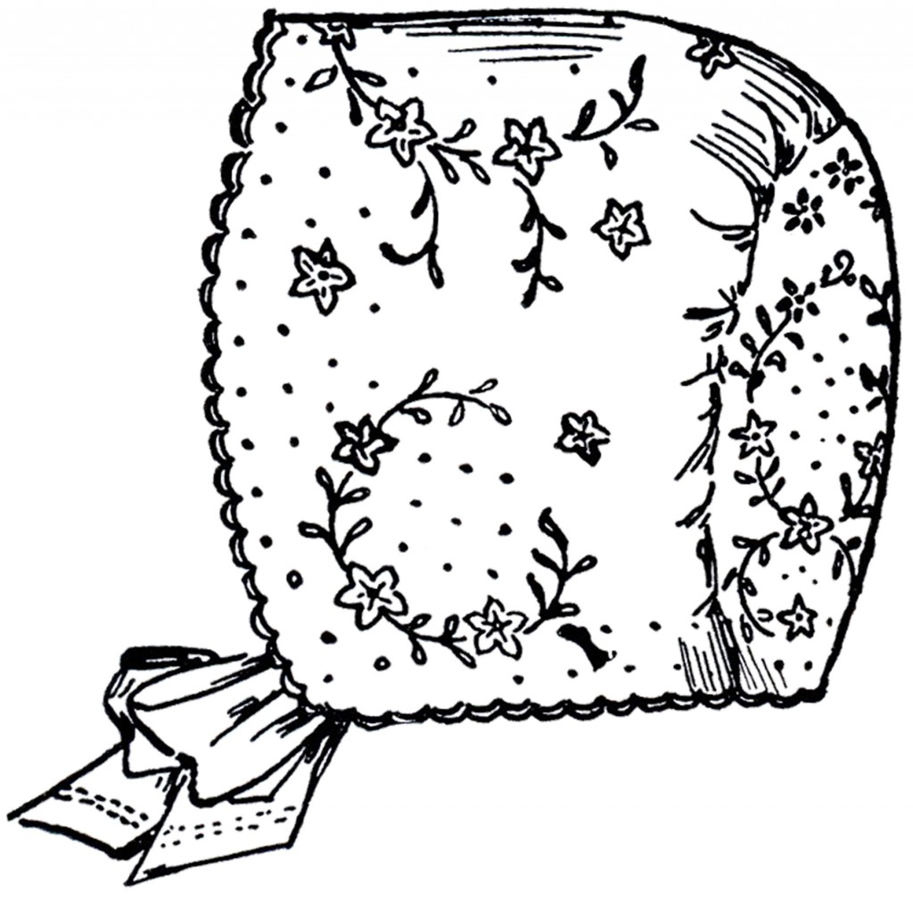 Vintage Baby Bonnet Image