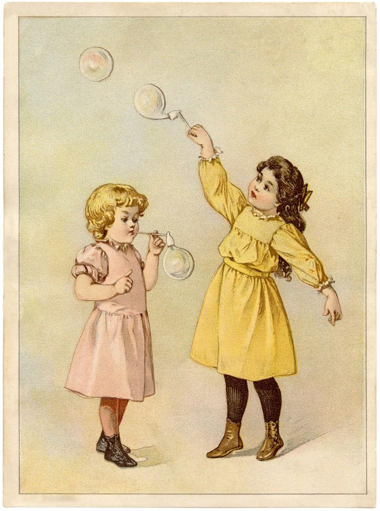 Vintage Bubbles Image
