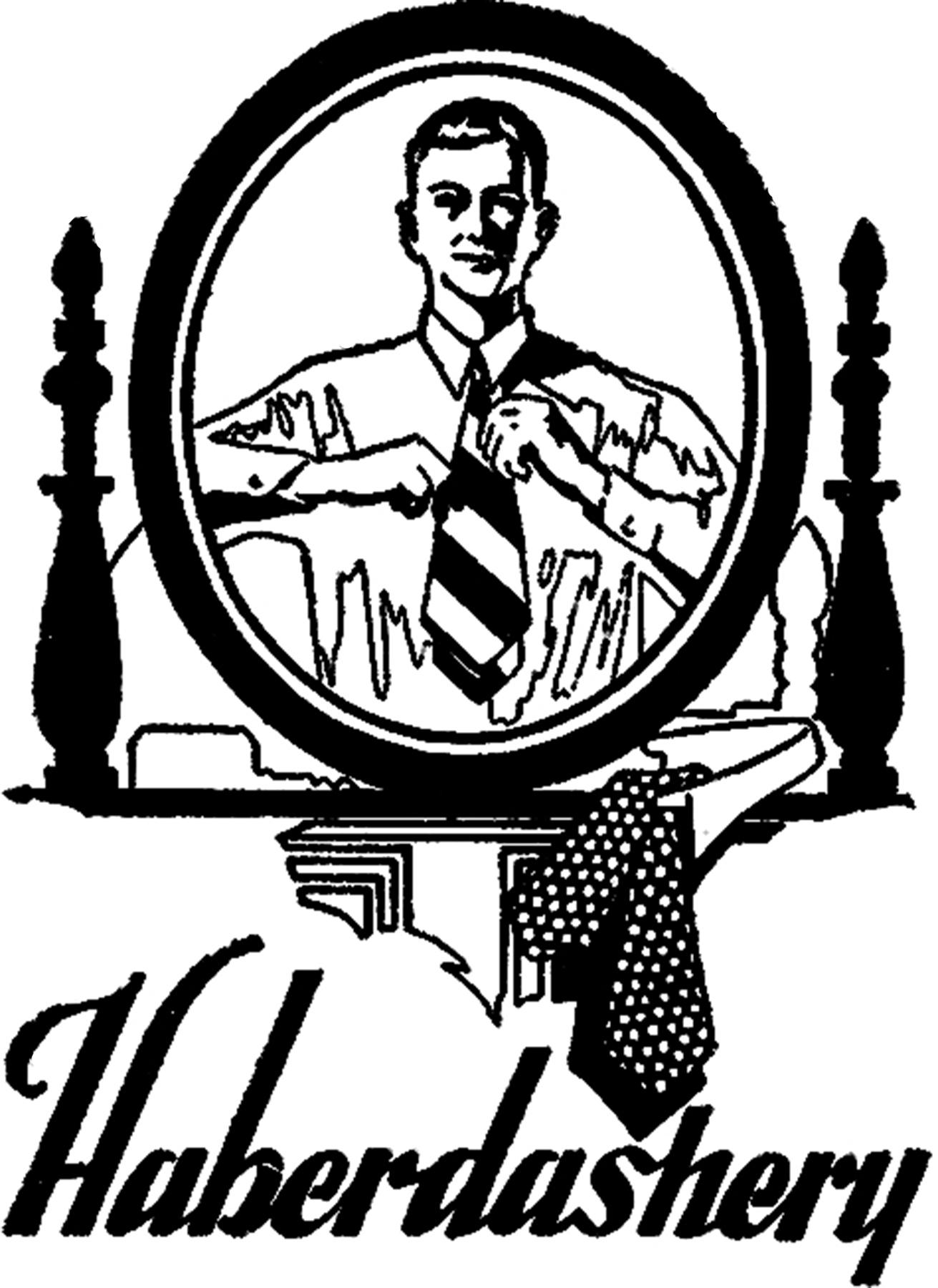 vintage haberdashery image