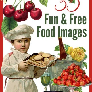 35 Fun (and Free) Food Images!