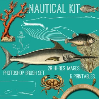Awesome Nautical Kit! TGF Premium