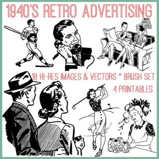 Retro Advertising Kit! TGF Premium