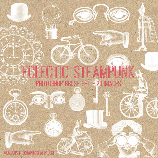steampunk_brushes_graphicsfairy
