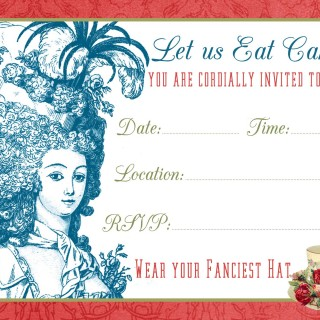 Tea Party Invite Printable & Tutorial!