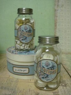 13 - Just Something I Made - BUtton Jars