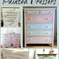 17 Awesome Painted Dressers