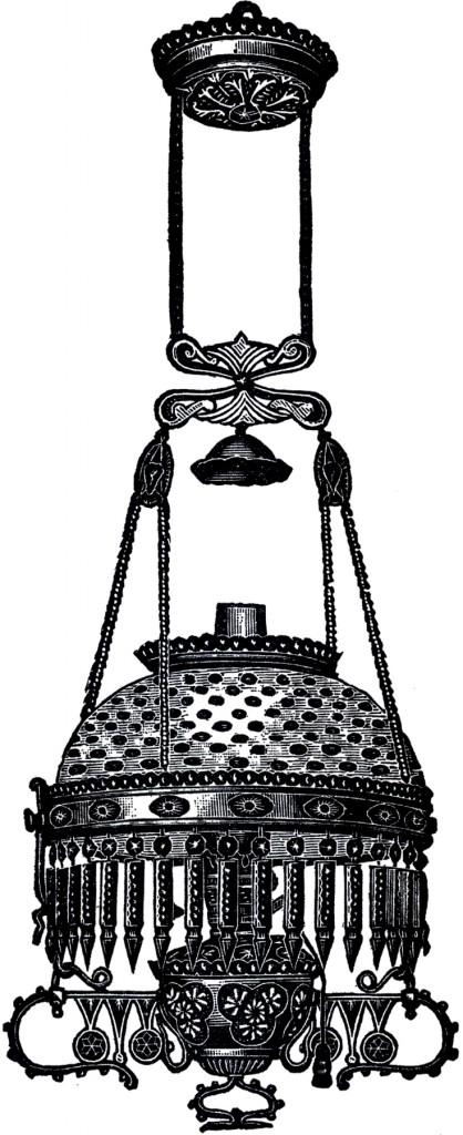 Antique Hobnail Light Image