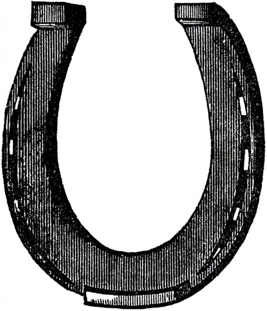 Free Horse Shoe Clip Art