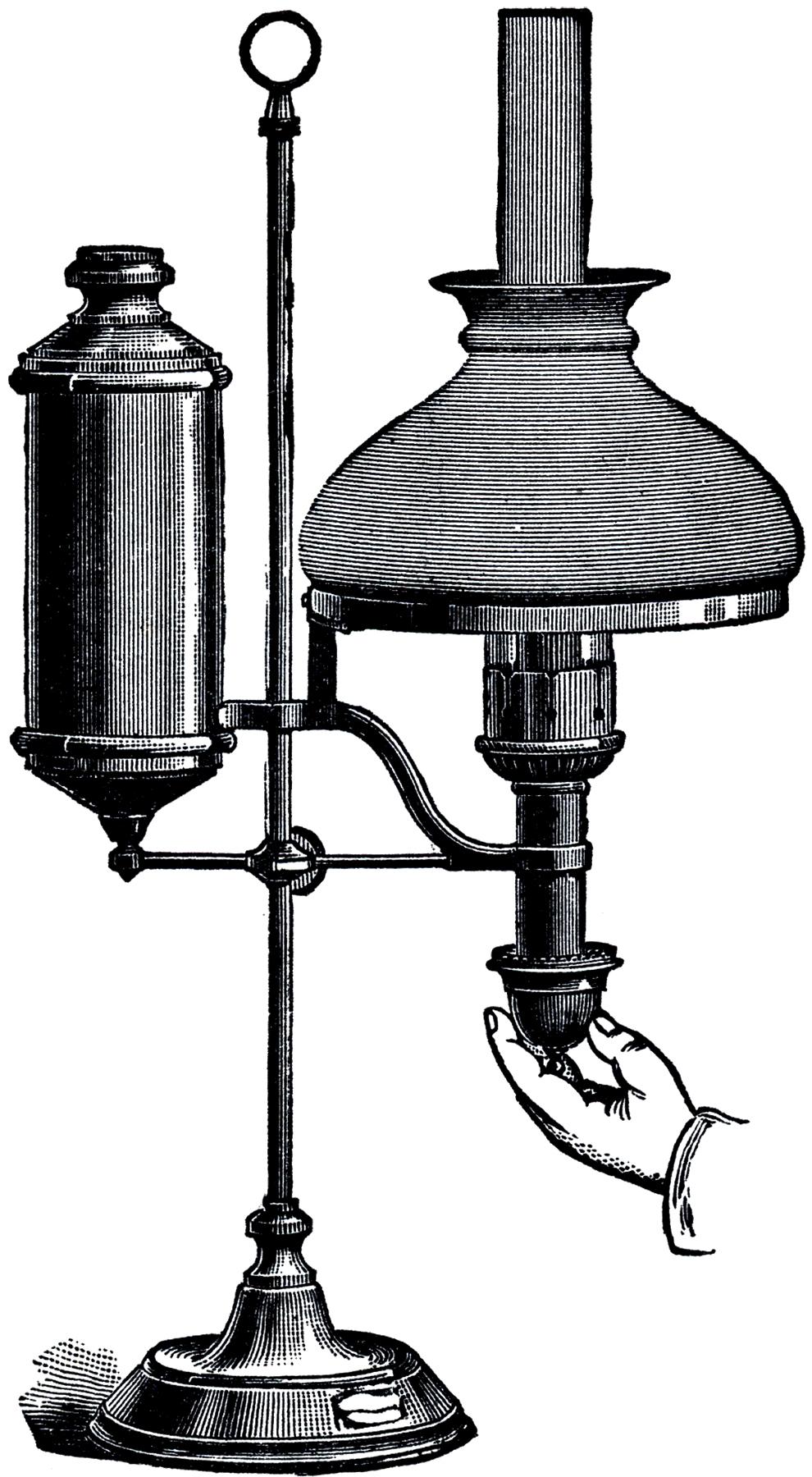 Vintage desk lamp - Free Vintage Desk Lamp Image