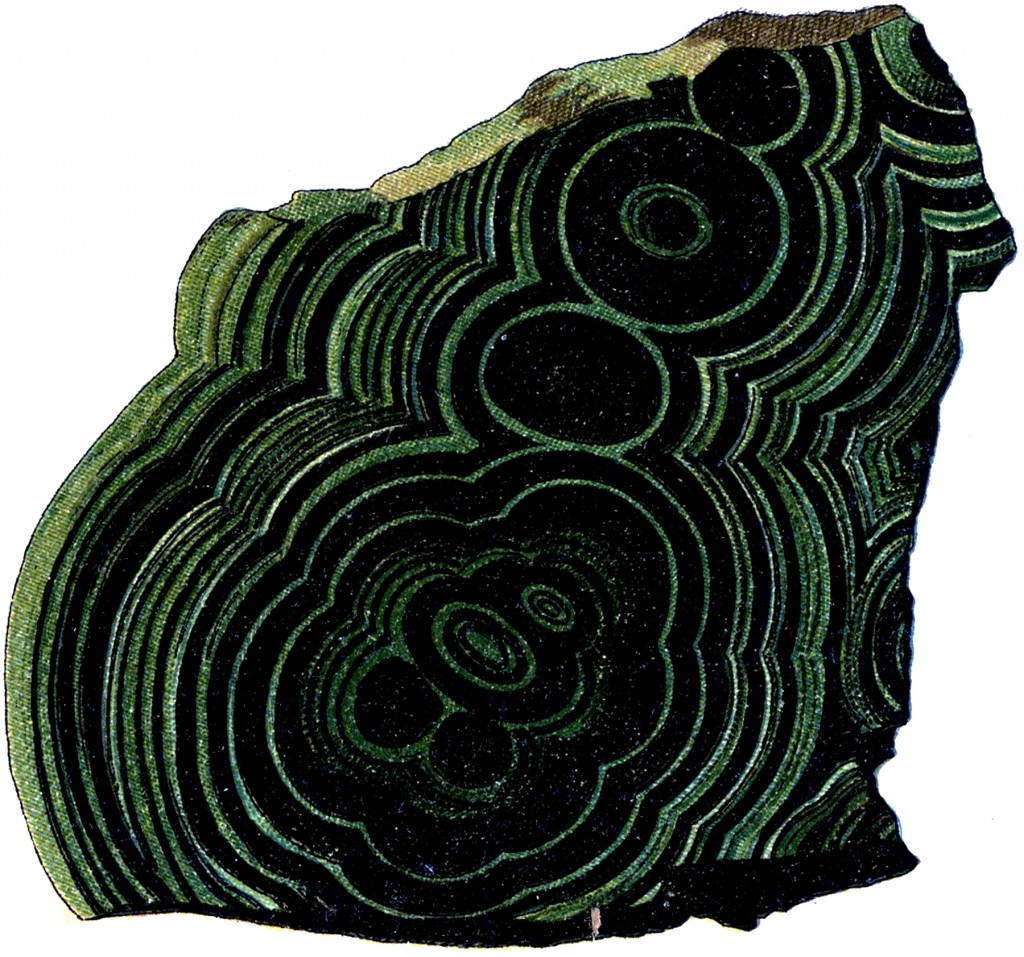 Malachite Stone Image