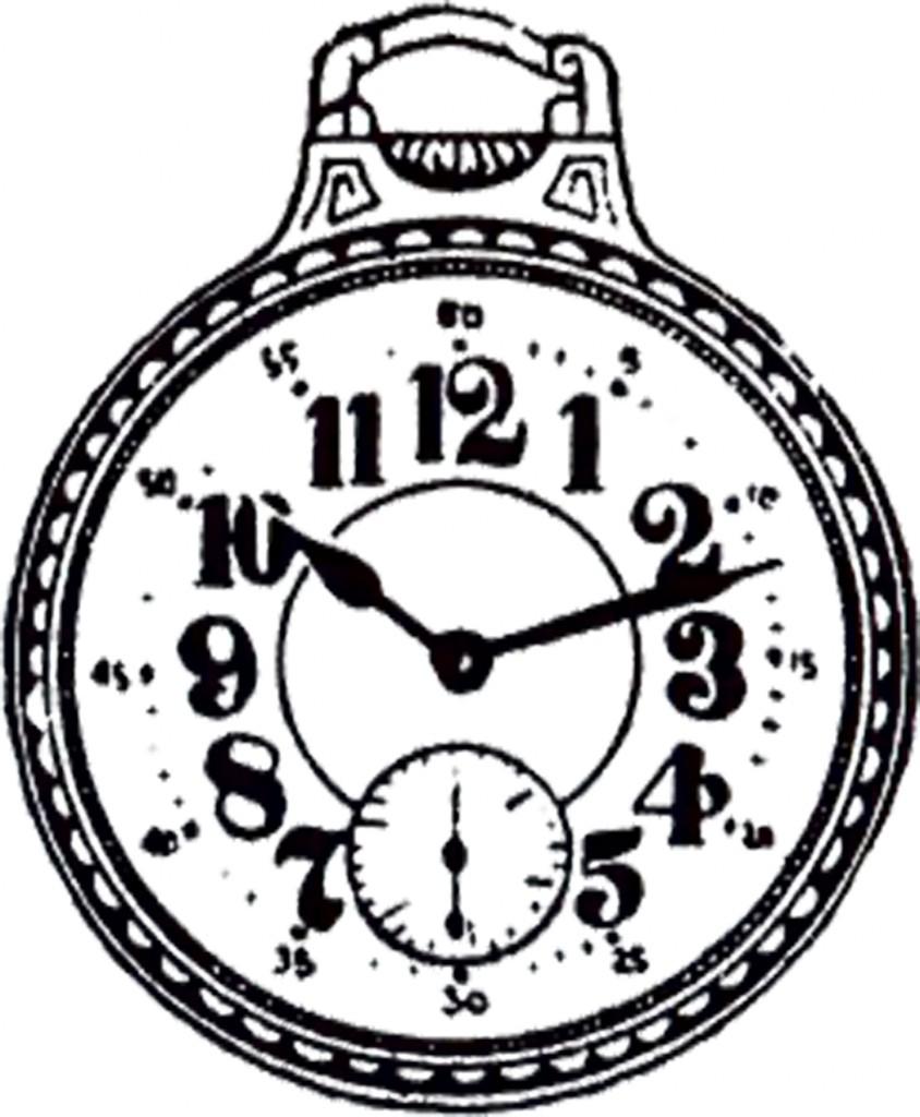 Public Domain Pocket Watch Image