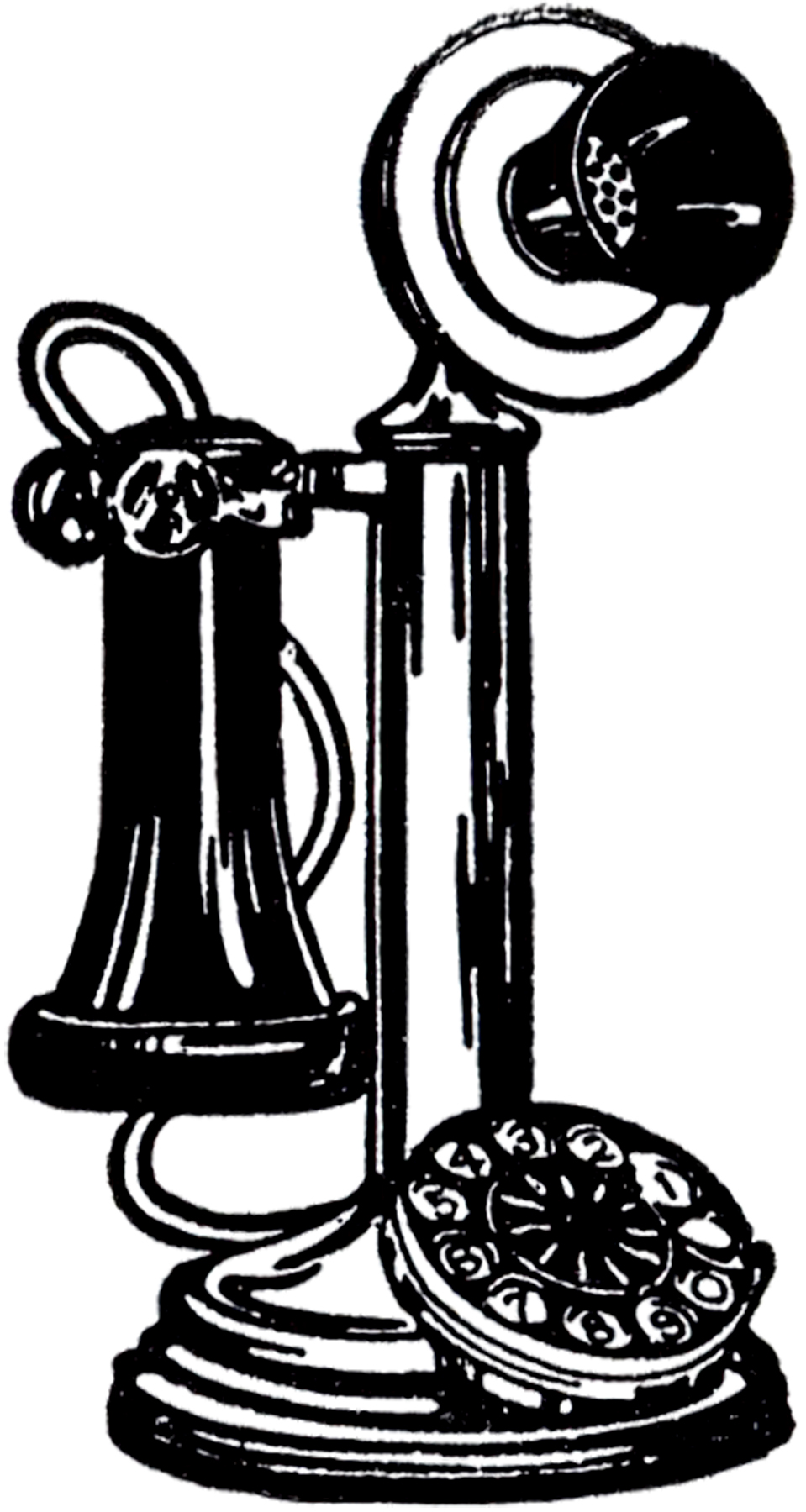 Old Fashioned Telephone Image! - The Graphics FairyOld Cell Phone Clip Art