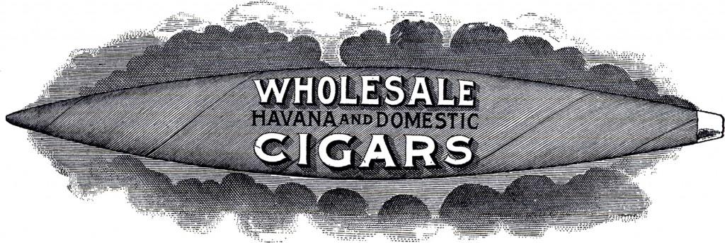 Vintage Cigar Sign