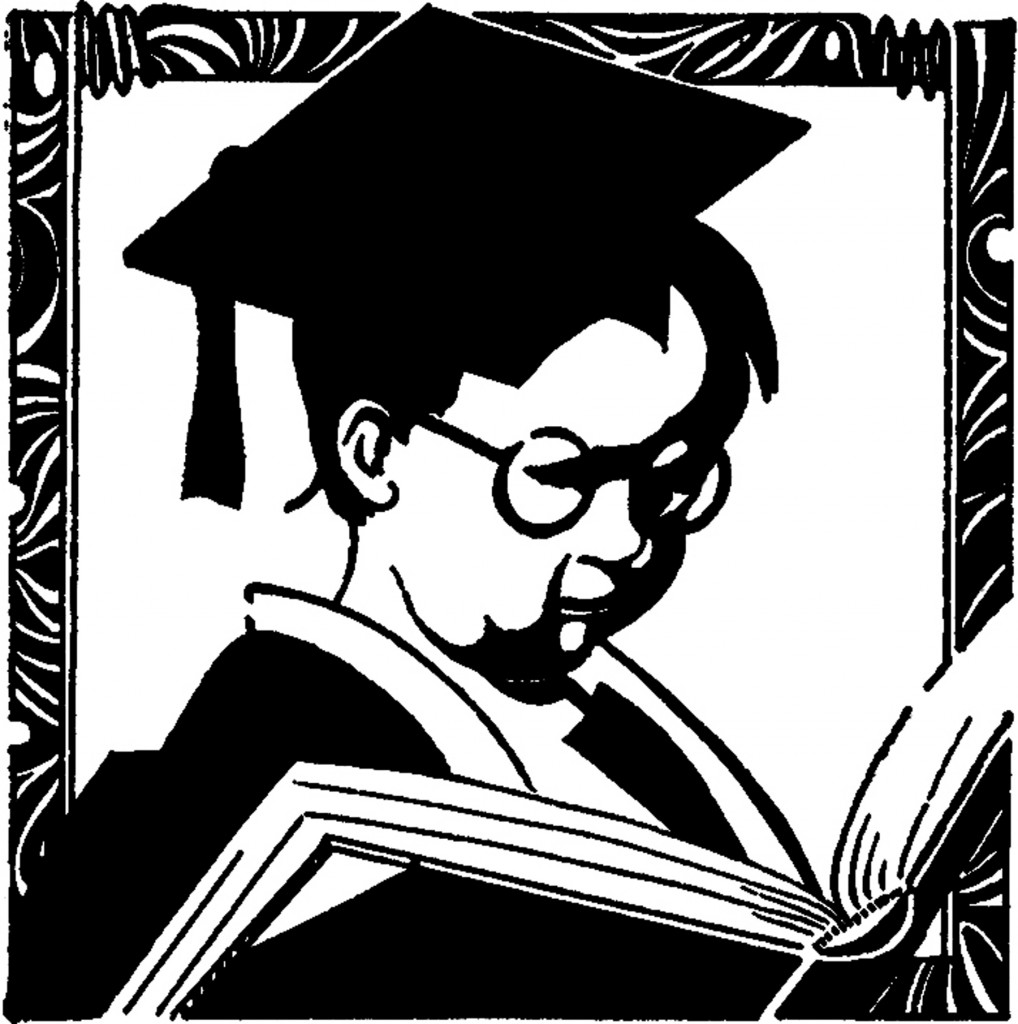 Vintage Graduation Boy Image