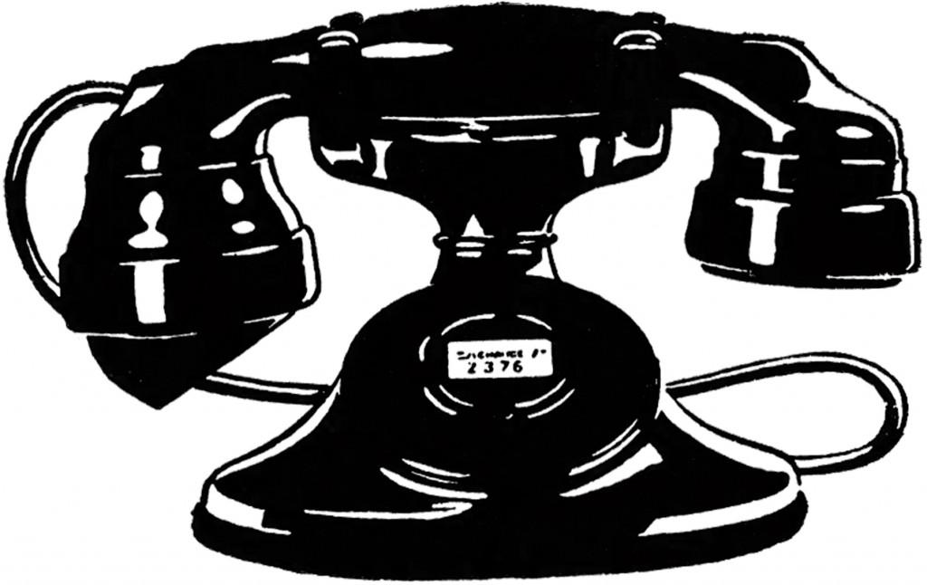 Vintage Telephone Image