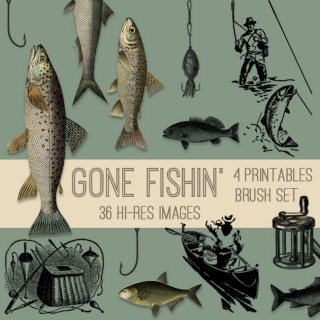 Gone Fishin' Kit – Father's Day- TGF Premium!