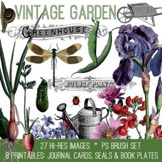 Gorgeous Vintage Garden Kit – TGF Premium!