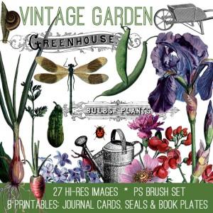 Vintage Garden Kit