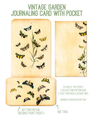 journaling-card-pocket-graphicsfairy-butterfly