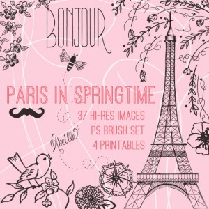 Paris in Springtime Kit